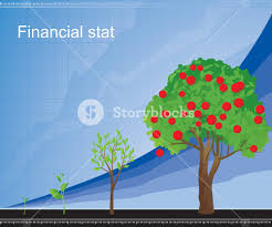 growing chart growing chart vector royalty free stock image storyblocks