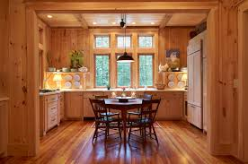 Knotty Pine Cabinets Kitchen Pine Cabinets Kitchen With Recessed Lighting Kitchen Traditional