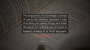 quote about personal knowledge leonardo da vinci quote u201cthe acquisition of knowledge is always