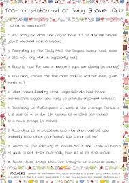 printable quizzes uk baby shower quiz part 2 josie robson s brain froth