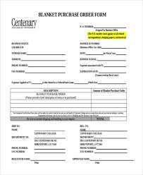 11 purchase order forms free samples examples formats download