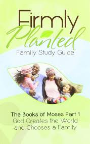 god creates the world and chooses a family firmly planted family