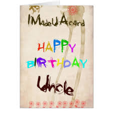 uncle birthday wish gifts on zazzle