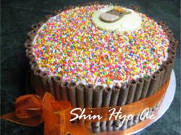 cara membuat hiasan kue ulang tahun anak cake shinhyoae