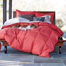 Coral Bedspread La Crosse Down Comforter In Spiced Coral This Is Mine For