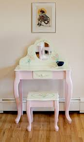 childrens dressing tables with mirror and stool beautiful furniture ideas of kids girls vanity set design in antique