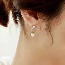 korean earings youniq basic korean pearl tassel ab end 4 7 2019 5 15 pm