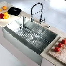 how to install stainless steel farmhouse sink installing kitchen sink drain also kitchen sink installation