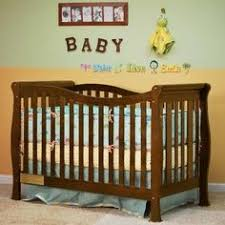 Brookline Convertible Crib S Child Of Mine 4 In 1 Convertible Crib Chocolate Crib
