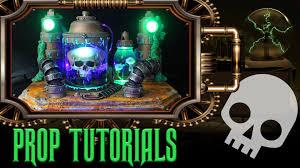 mad scientist halloween prop tutorial youtube