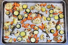 cuisiner des courgettes au four recette carottes courgettes et choux fleurs au four maigrir