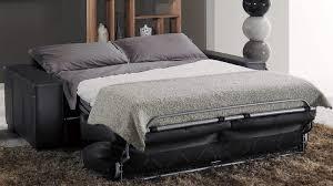 canap lit en cuir canapé lit style contemporain cuir