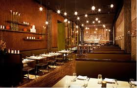 brown and green color scheme restaurant ideas and decor