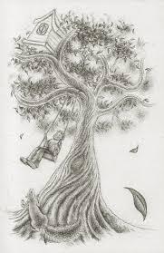 tree sketch by lunarhare on deviantart