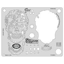 image result for airbrush templates stencils skulls free