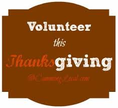 volunteer on thanksgiving day in forsyth county