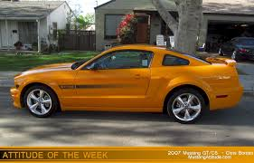 2007 ford mustang california special grabber orange 2007 ford mustang gt california special coupe