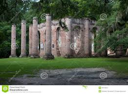 South Carolina landscapes images Old sheldon church ruins south carolina royalty free stock jpg
