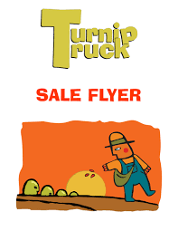 the turnip truck on sale