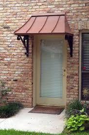 Exterior Door Awnings Back Door Awning Ideas Khosrowhassanzadeh