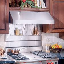 Broan RMP  In Rangemaster Stainless Steel Backsplash - Stainless steel backsplash