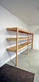 what of wood is best for shelves best diy garage shelves attached to walls white