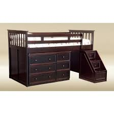 loft bed with desk and storage steps storage decorations