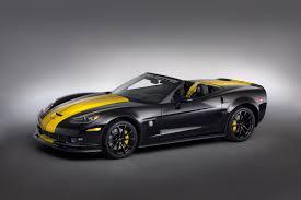 black and yellow corvette 2013 chevrolet fieri s corvette 427 convertible chevrolet