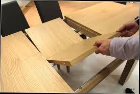 Table Ronde Blanche Avec Rallonge Pied Central by Table Basse Escamotable Avec Rallonge U2013 Phaichi Com