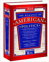 almanac of american politics 2018 columbia books inc