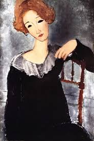 modigliani woman with a fan artwork woman with a fan by amedeo modigliani arts and humanities