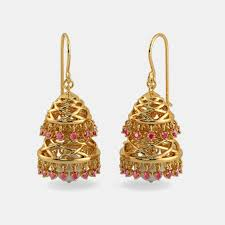 jhumka earrings jhumka earrings buy jhumka earring designs online in india 2017