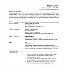 sample physician assistant resume format option i resume cv