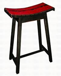 Bar Stool Ideas Furniture Charming Saddle Seat Bar Stool For Inspiring Classic
