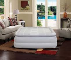 queen size air mattress can be perfect for two sleepers like you