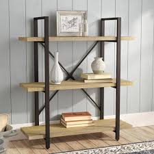Office Bookcases With Doors Low U0026 Horizontal Bookcases You U0027ll Love Wayfair