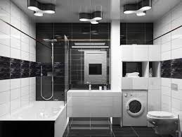 black and white bathroom decorating ideas 26 magical bathroom tile design ideas creativefan black and white