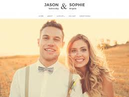 the best wedding websites best themes for your wedding website