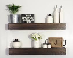 Floating Shelves Kitchen by Kitchen Shelves Etsy