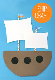 make a mayflower kids thanksgiving craft idea from