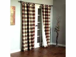 Patio Door Curtain Rod Curtain Sliding Glass Door Peytonmeyernet Curtain Rods For