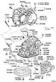 lexus rx300 no overdrive lexus rx300 330 350 gsu35r awagkw 35168a gasket automatic
