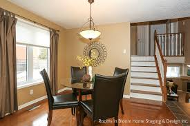 charming kitchener backsplit rooms in bloom home staging cora dr