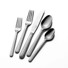 buy italian countryside 20 piece flatware set online at mikasa com 20 piece flatware set