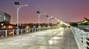 Solar Lights How Do They Work - las vegas pedestrians power streetlights with a little help from