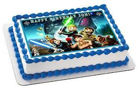 wars edible image lego wars 6 edible birthday cake or cupcake topper edible