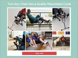 Chair Cycle Indoor Or Outdoor Total Body Exercise Bike