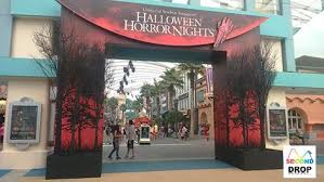 Halloween Decorations Store Nyc by Second Drop Attractions Uss Halloween Horror Nights 2015