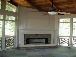 Fake Outdoor Fireplace - beautiful electric corner fireplace modern room mantel ideas decor