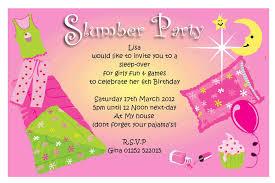 free printable slumber invitation templates